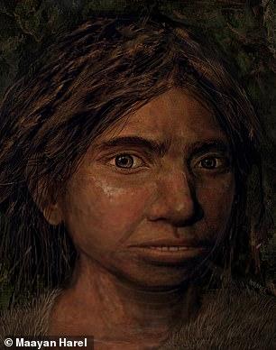 بازسازی چهره یکی از دنیسوانها بوسیله DNA